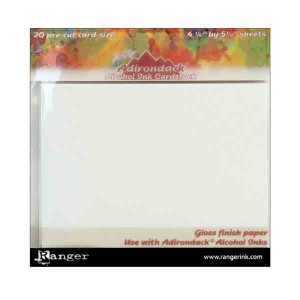 Adirondack Alcohol Ink Cardstock By Tim Holtz 20/Pkg