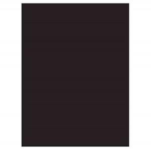 Darice Black Foam Sheet – 9″ x 12″