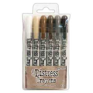 Tim Holtz Distress Crayon Set - Set #3 class=