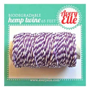 Avery Elle Hemp Twine - Sugar Plum