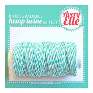 Avery Elle Hemp Twine - Aquamarine