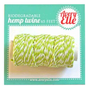 Avery Elle Hemp Twine - Lucky