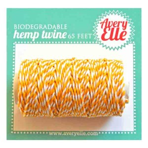 Avery Elle Hemp Twine – Citrus