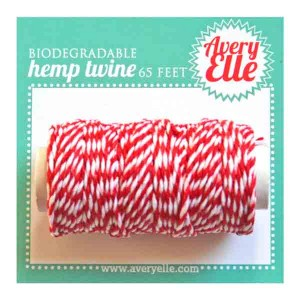 Avery Elle Hemp Twine - Cherry