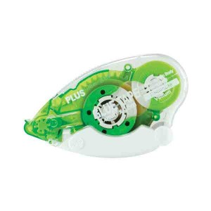"Plus Permanent Vellum Glue Tape Dispenser - 1/3"" wide"