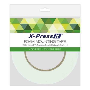 "X-Press It Double-Sided Foam Mounting Tape - 3/4"" (18mm) class="