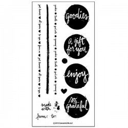 Concord & 9th Lots of Blots Stamp Set
