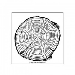 Concord & 9th Tree Ring Stamp