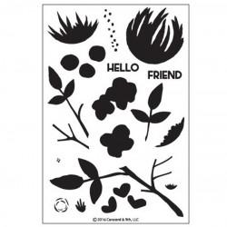 Concord & 9th Flourish Stamp Set