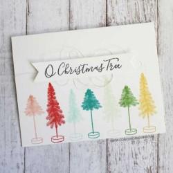 Concord & 9th O Christmas Tree Stamp Set