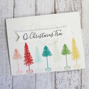 Concord & 9th O Christmas Tree Stamp Set class=