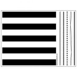 Concord & 9th Stripe Builder Stamp Set