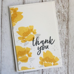 Concord & 9th Brushed Blossoms Stamp Set class=