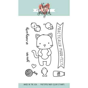 Neat & Tangled Kitty's Favorite Things Stamp Set