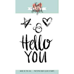 Neat & Tangled Hello You Stamp Set