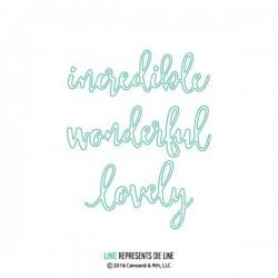 Concord & 9th Wonderful Words Die Set