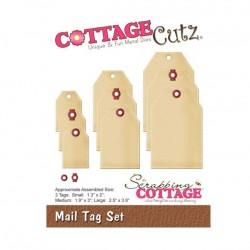 CottageCutz Mail Tag Set Die Set