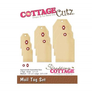 CottageCutz Mail Tag Set Die Set