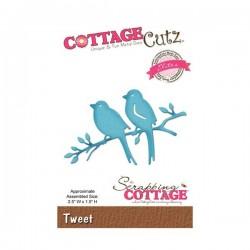 CottageCutz Tweet Die
