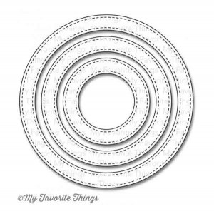 My Favorite Things Die-namics Stitched Circle Frames