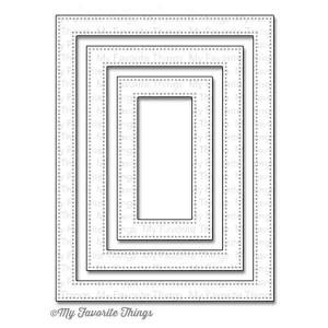 My Favorite Things Die-namics Pierced Rectangle Frames