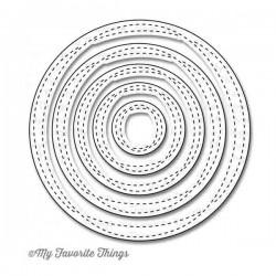 My Favorite Things Die-namics Wonky Stitched Circle STAX
