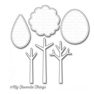 My Favorite Things Die-namics Tree-mendous Die Set