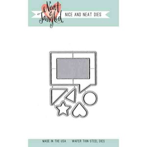 Neat & Tangled Square Thoughts Die Set