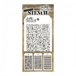 Tim Holtz Mini Layering Stencil, Set #14