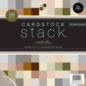 DCWV Cardstock Stack - Neutrals
