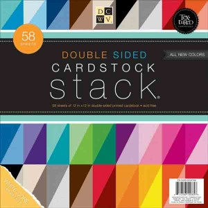 DCWV Cardstock Stack Double-Sided - Textured class=