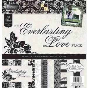 DCWV Cardstock Stack - Everlasting Love