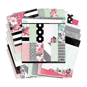 Heidi Swapp Single-Sided Paper Pack - Hello Beautiful class=