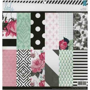 Heidi Swapp Single-Sided Paper Pack - Hello Beautiful