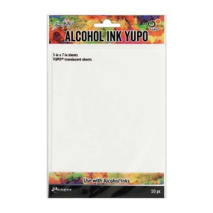 Tim Holtz Alcohol Ink Translucent Yupo Paper class=