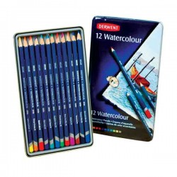 Derwent Watercolor Pencil Set - 12 Pencils