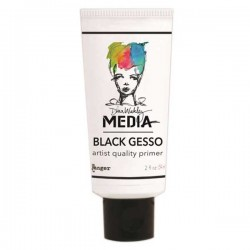 Dina Wakley Media Gesso - Black