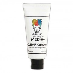 Dina Wakley Media Gesso - Clear