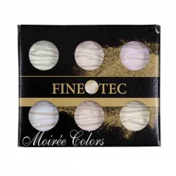 Finetec Artist Mica Watercolor Paint Iridescent - Moiree Colors