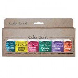 Ken Oliver Color Burst Watercolor Powders - Brights