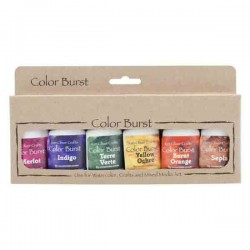Ken Oliver Color Burst Watercolor Powders - Earth-tones