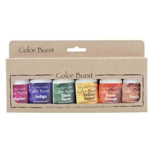 Ken Oliver Color Burst Watercolor Powders – Earth-tones