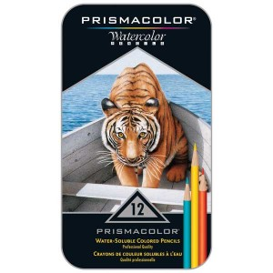 Prismacolor Premier Watercolor Pencil Set - 12-Colors