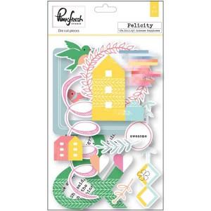 Pinkfresh Felicity Cardstock Die Cuts