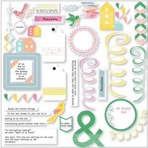 Pinkfresh Felicity Cardstock Die Cuts class=