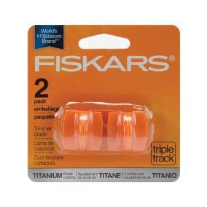 Fiskars TripleTrack High-Profile Titanium Blades - 2 PKG