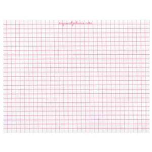 Grid Paper Pad - MISTI