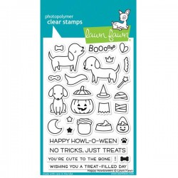 Lawn Fawn Happy Howloween Stamp Set