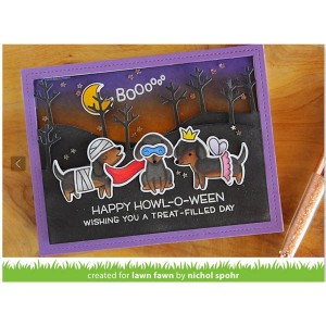 Lawn Fawn Happy Howloween Stamp Set class=