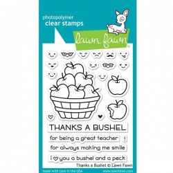 Lawn Fawn Thanks A Bushel Stamp Set